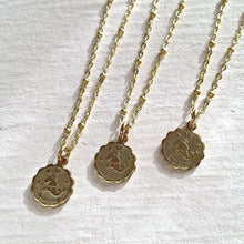 Load image into Gallery viewer, Zodiac Sign Astrological Charm Necklace Collection Capricorn