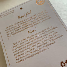Load image into Gallery viewer, Pika & Bear Necklace Gift Packaging