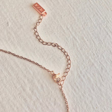 Load image into Gallery viewer, rose gold extension chain with clasp