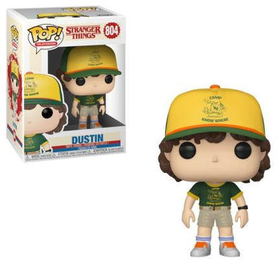 Stranger Things - POP! Dustin At Camp FUNKO