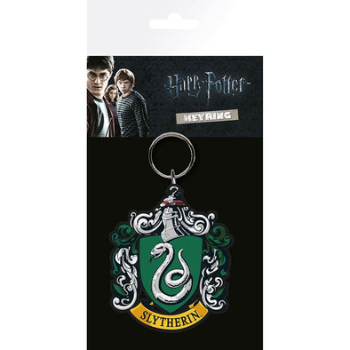 Harry Potter - Porta-Chaves de Borracha Slytherin Popstore