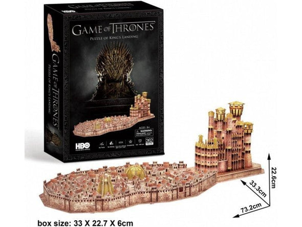 Game of Thrones - Puzzle 3D King's Landing Popstore