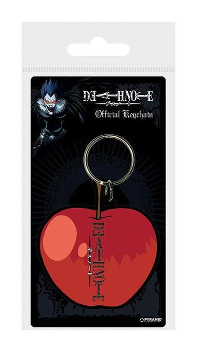 Death Note - Porta-Chaves de Borracha (Apple)