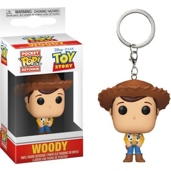 Toy Story - Porta-Chaves POP! Woody FUNKO