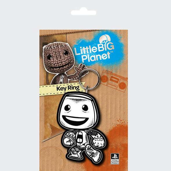 Little Big Planet - Porta-Chaves de Borracha Popstore