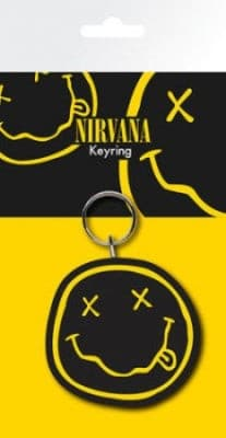 Nirvana ( Smiley ) - Porta Chaves Borracha