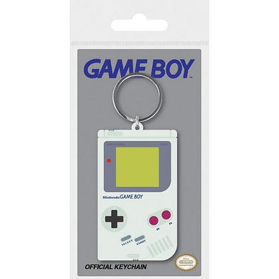 Nintendo - Porta-Chaves de Borracha Game Boy - Popstore