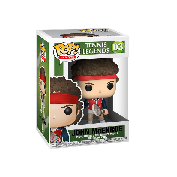 Tennis Legends - POP! John McEnroe *Pré-Venda*