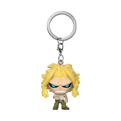 POP Keychain: My Hero Academia - All Might (True Form) *Pré-Venda*