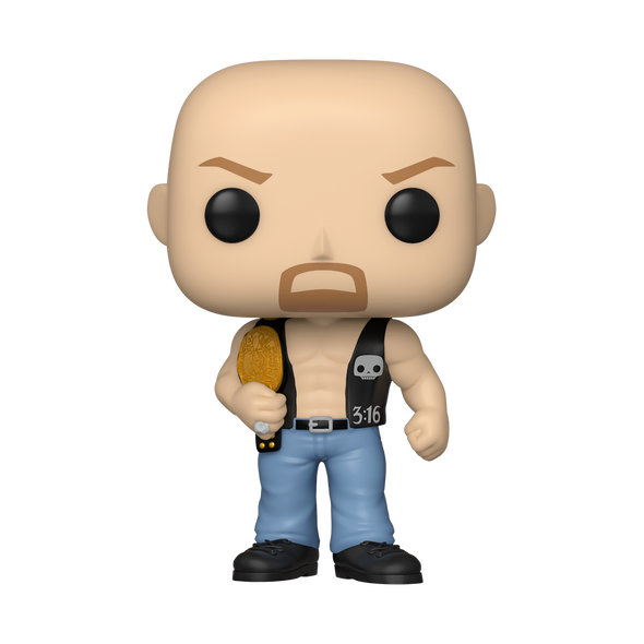 WWE - POP! Steve Austin w/Belt