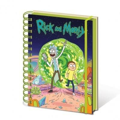 Rick And Morty - Notebook Popstore