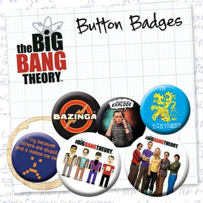 The Big Bang Theory - Pins Popstore