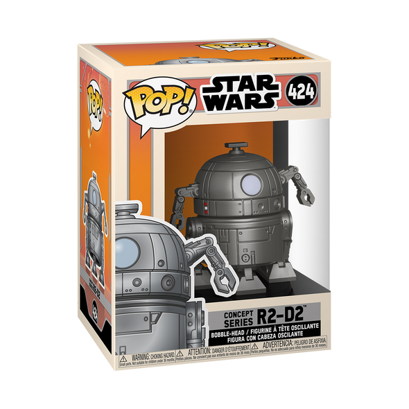 Star Wars - POP! SW Concept - R2-D2 *Pré-venda*