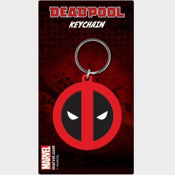 Deadpool - Porta-Chaves de Borracha Logo Popstore