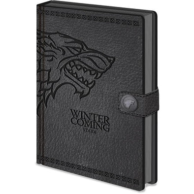 Game of Thrones - Notebook Premium Stark Popstore