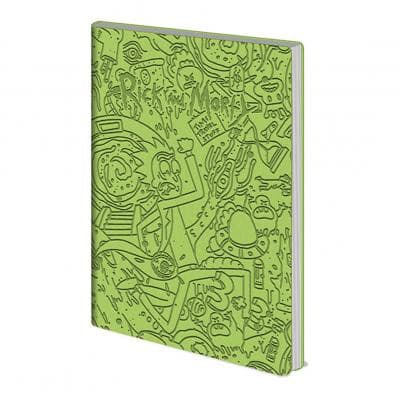 Rick And Morty - Notebook Flexível Popstore