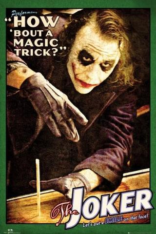 Joker - Poster Dark Knight Joker Magic Trick Popstore