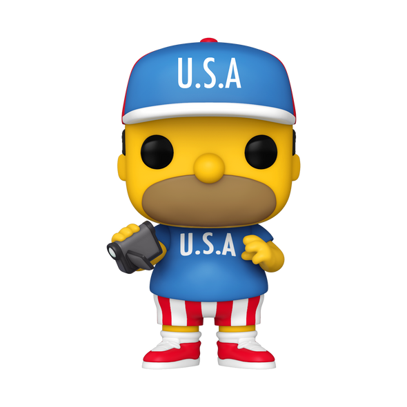 Simpsons - POP! USA Homer *Pré-Venda*