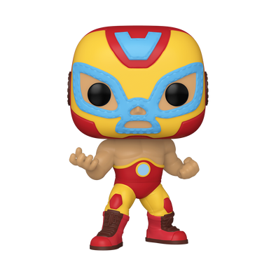 POP Marvel: Lucha Libre - Iron Man *PRÉ-VENDA*