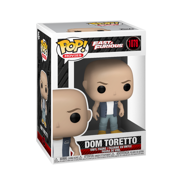Fast and Furious - POP! Dominic *Pré-Venda*