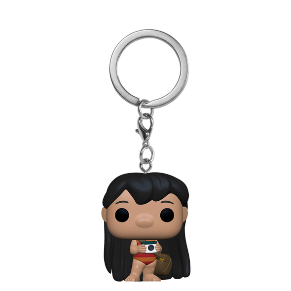 POP Keychain: Lilo & Stitch - Lilo w/Camera *Pré-Venda*