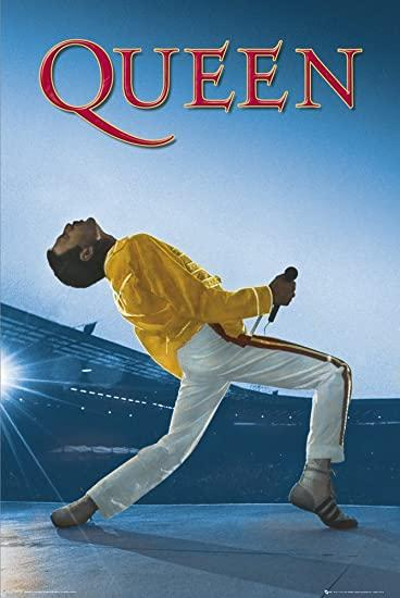 Queen - Poster Live At Wembley Popstore