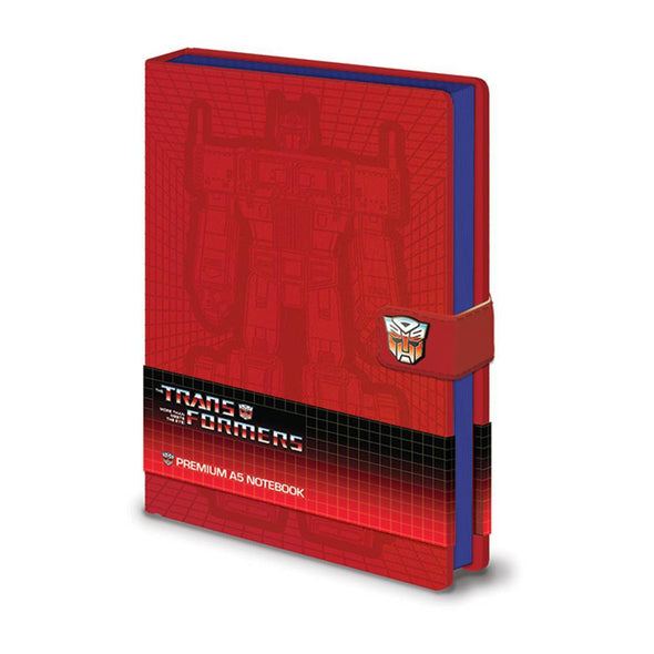 Transformers - Notebook Premium Optimus Prime Popstore