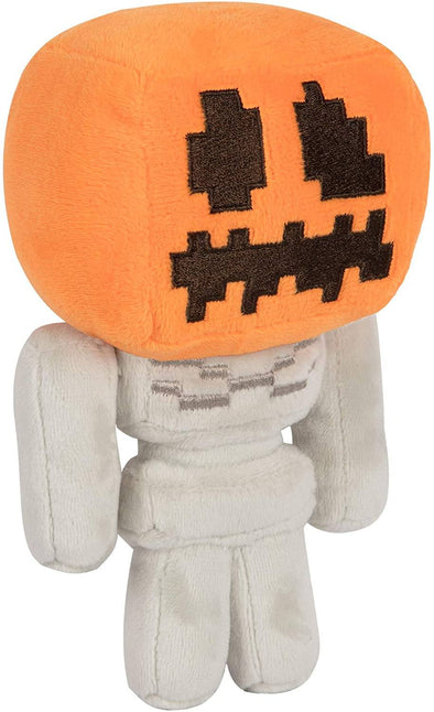 Minecraft - Peluche Mini Pumpkin Head Skeleton