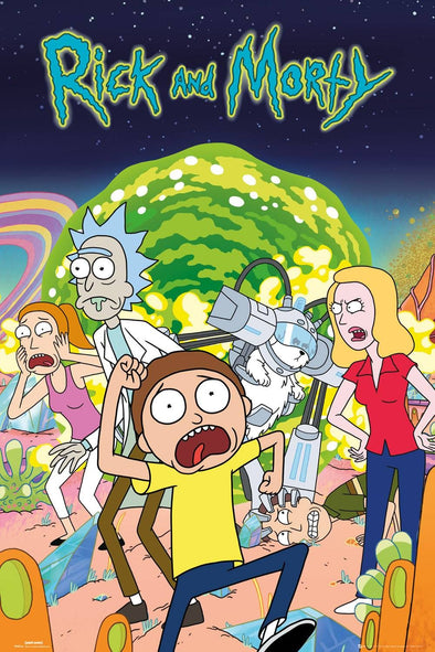Rick and Morty - Poster Grupo - Popstore