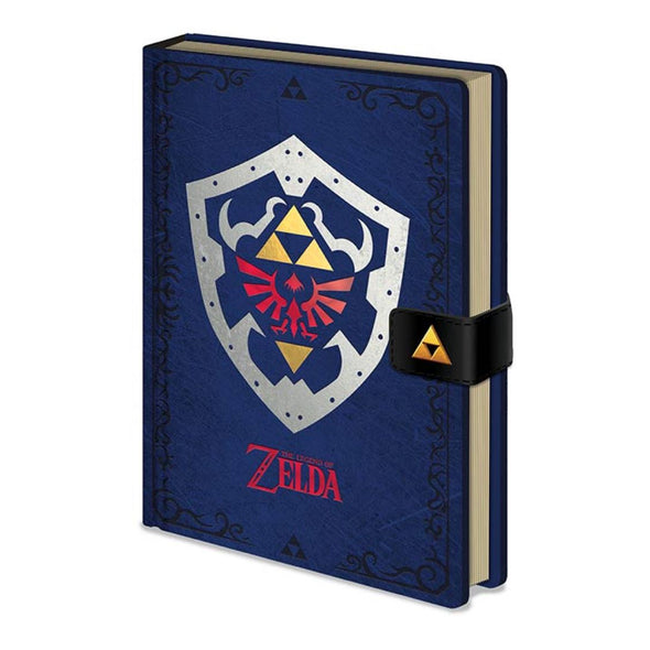 The Legend of Zelda - Notebook Premium Hylian Shield Popstore