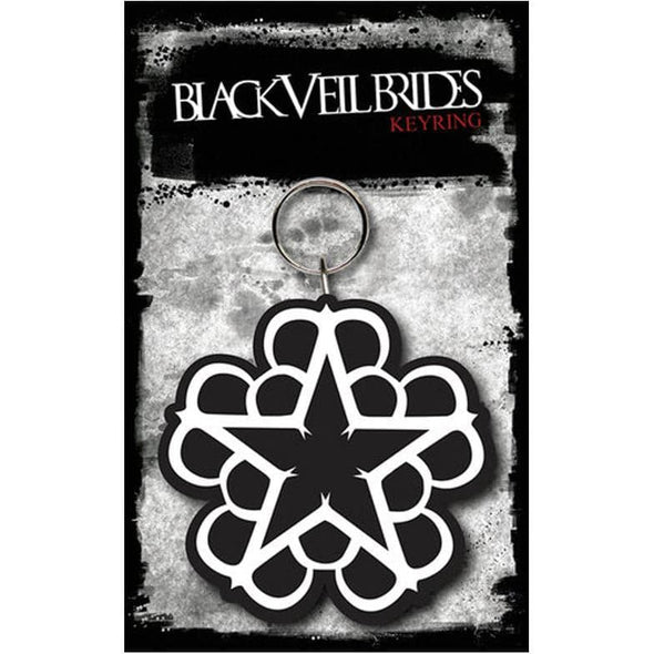 Black Veil Brides - Porta-Chaves de Borracha Popstore