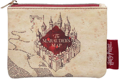 Harry Potter - Carteira Pequena Marauder's Map