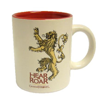 Game of Thrones - Caneca Lannister Branca Popstore