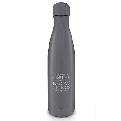 Game of Thrones - Garrafa de Água I Drink And I Know Things Popstore