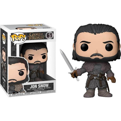 Game of Thrones - POP! Jon Snow (Beyond the Wall) FUNKO