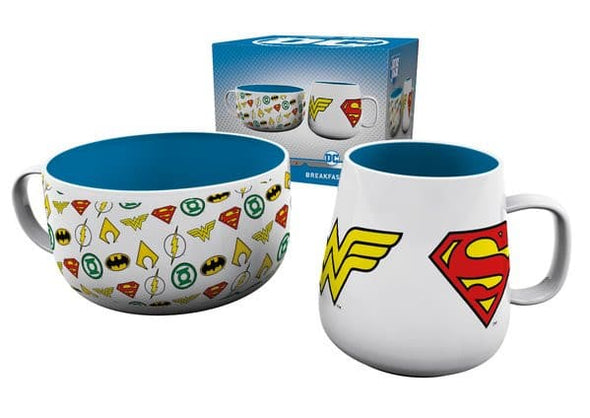 DC Comics - Logos Breakfast Set