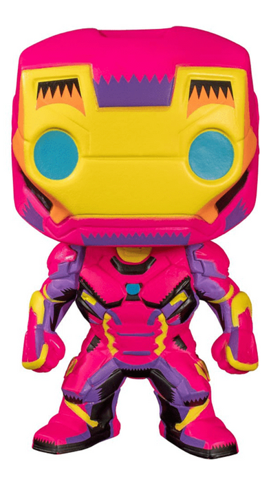 Marvel Black Light - POP! Iron Man