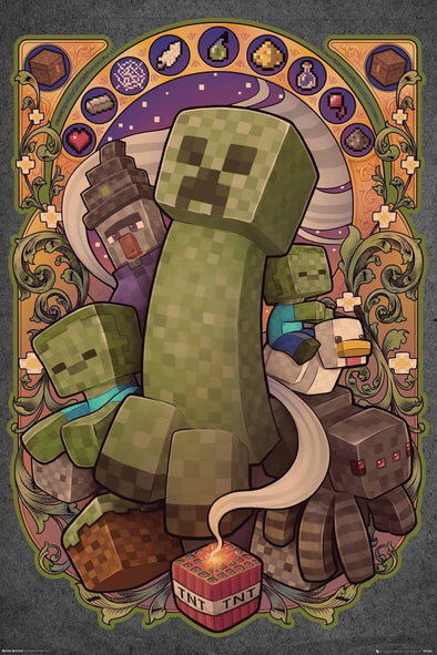 Minecraft - Poster Creeper Popstore