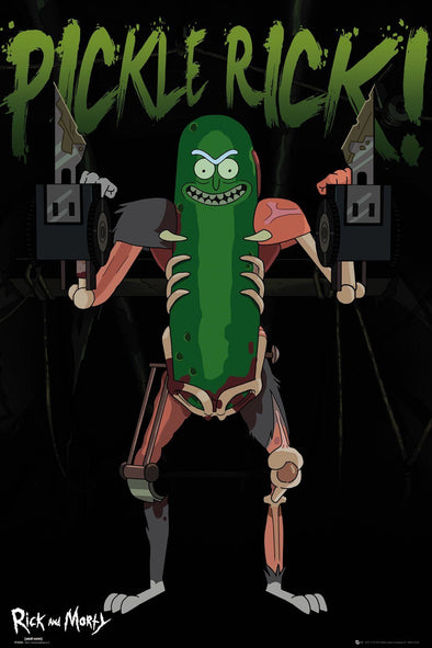 Rick and Morty - Poster Pickle Rick Popstore