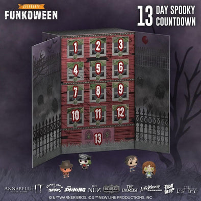 13-Day Spooky Countdown - Calendário do Advento FUNKO Popstore