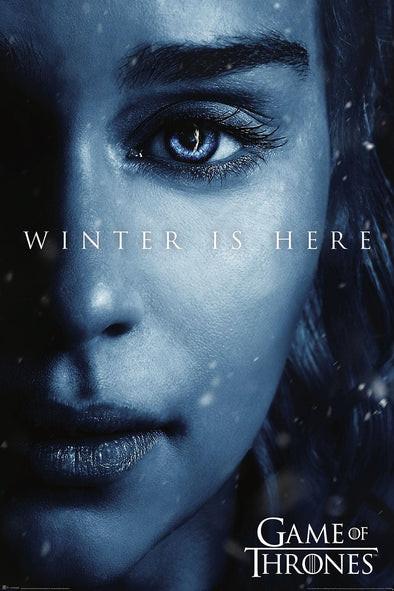 Game of Thrones - Poster Winter is Here Daenerys Popstore