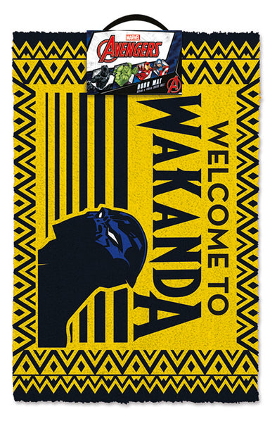 Pantera Negra - Tapete Welcome To Wakanda