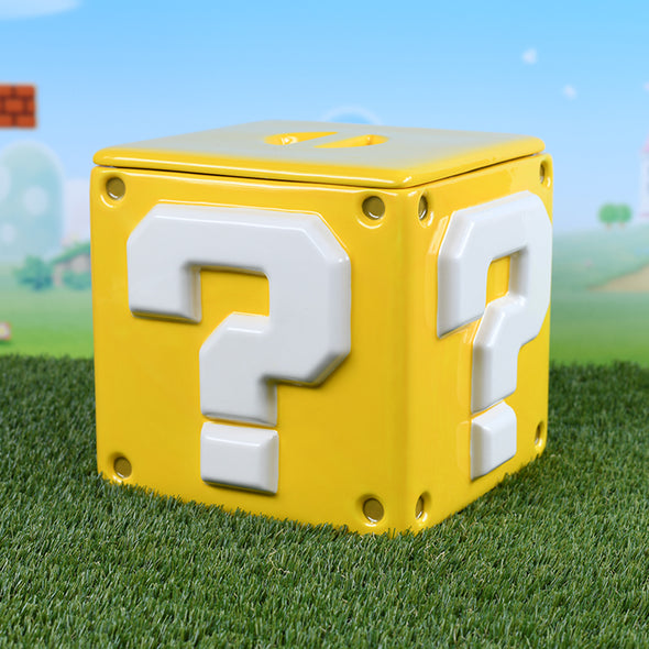 Super Mario - Cookie Jar Question Block