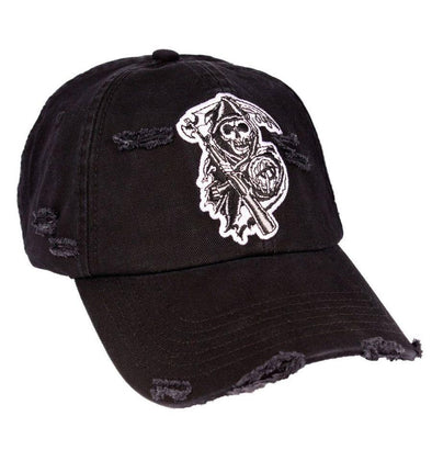 Sons Of Anarchy - Chapéu Pala Curva Grunge Popstore