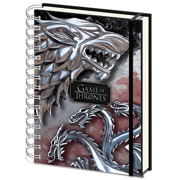 Game of Thrones - Notebook Stark and Targaryen Popstore