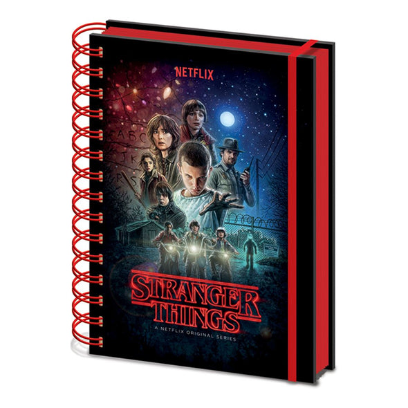 Stranger Things - Notebook One Sheet Popstore