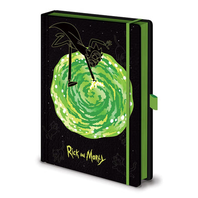 Rick And Morty - Notebook Premium PYRAMID