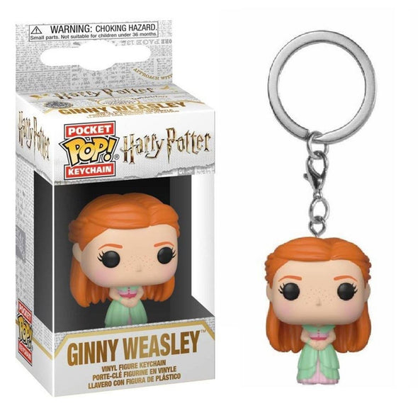 Harry Potter - Porta-Chaves POP! Ginny Weasley FUNKO