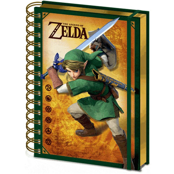 The Legend of Zelda - Notebook 3D Link Popstore