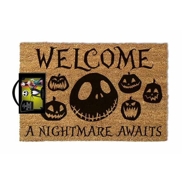 Nightmare Before Christmas - Tapete A Nightmare Awaits - Popstore